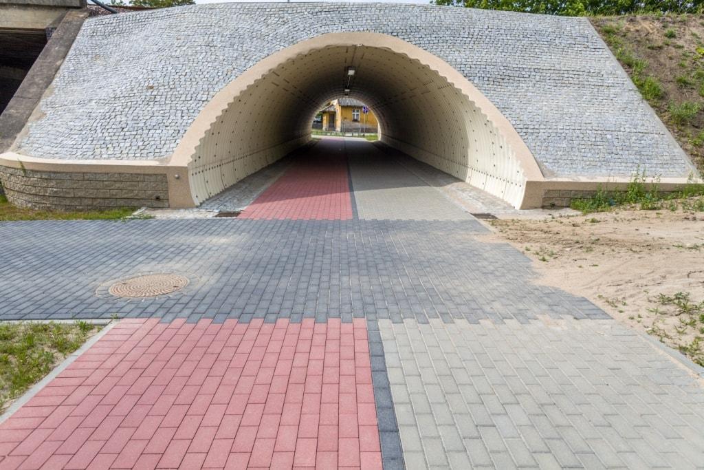 Droga pieszo-rowerowa w Chojnicach
