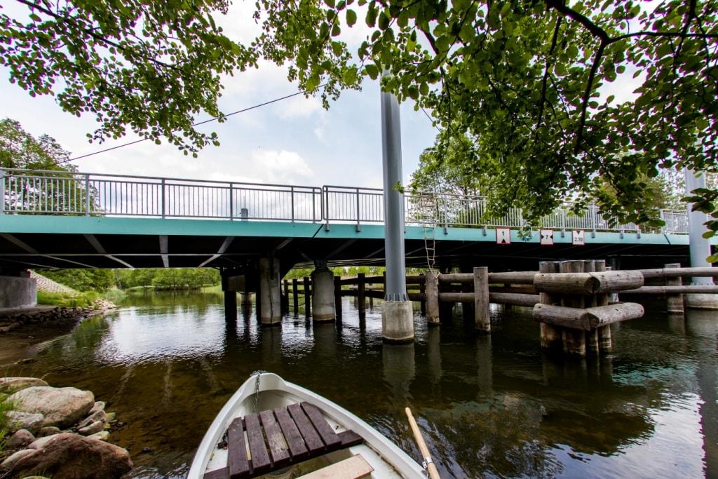 Most zwidzony w Małych Swornegaciach 1
