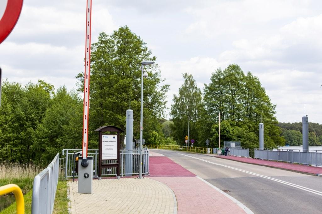 Most zwodzony w Małych Swornegaciach