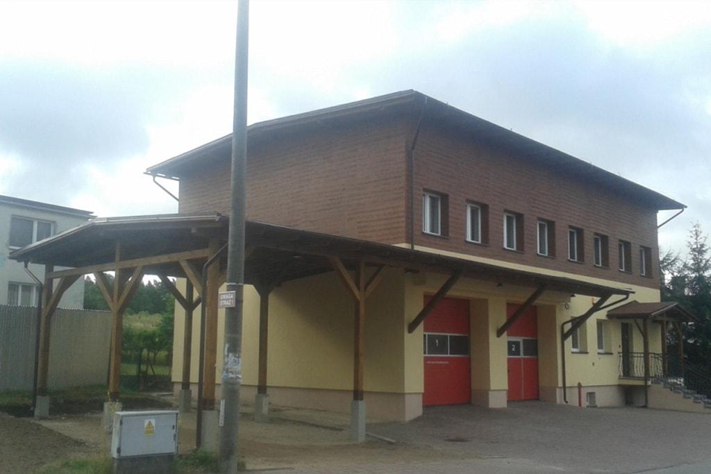 Termomodernizacja budynku OSP w Charzykowach